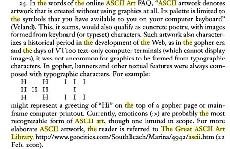 Digital Poetics | ASCII Art | Scoop.it