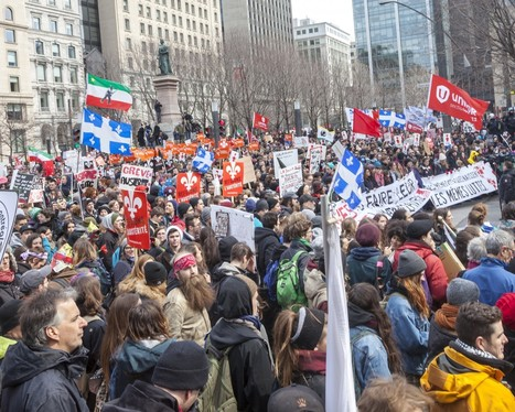 The students strike back: 75,000 protest austerity in Montreal   Archivance - Miscellanées   Scoop.it