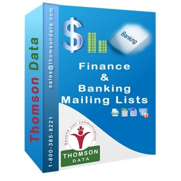 Finance and Banking Industry Executives Email and Mailing Lists | Buy Mailing List, Email List, Sales Leads - Thomson Data LLC. | USA | Scoop.it