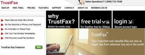 TrustFax Review – Send Free Online Fax With TrustFax.com | Free PC To Mobile Calls | Scoop.it
