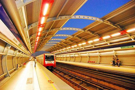 Chili : le métro de Santiago fonctionnera bientôt au solaire et à l'éolien | Novae | Dans l'actu | Doc' ESTP | Scoop.it