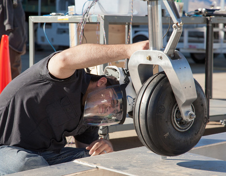 XCOR Lynx: Landing Gear 101 – Drop Tests | XCOR Aerospace blog | The NewSpace Daily | Scoop.it