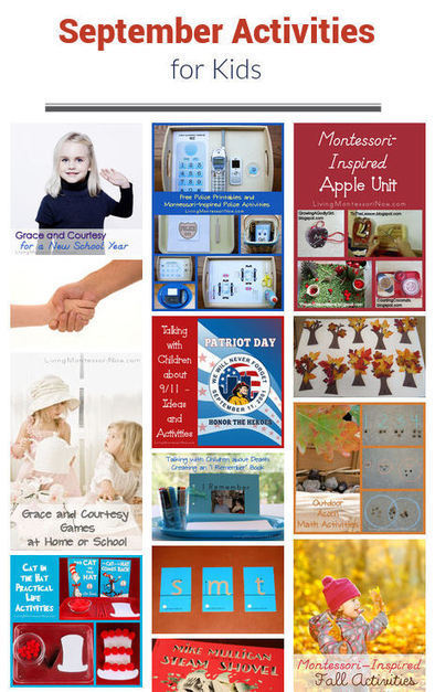 September Themed Activities for Kids | Montessori Inspired | Scoop.it