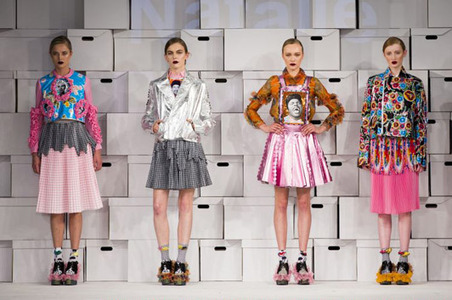 Graduate Fashion Week 2014: the talent-spotting showcase gets into gear - Telegraph | Manchester School of Art @ Graduate Fashion Week | Scoop.it