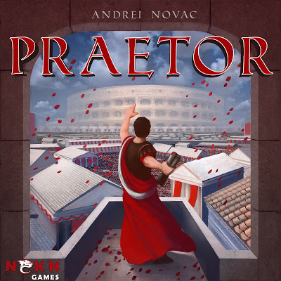 Let's take a look at the artwork of Praetor | The NSKN Boardgames Magazine | Scoop.it