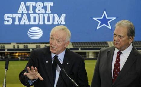 Mitchell Schnurman: For Cowboys and AT&T, stadium naming rights aren't a money grab | Sports Facility Management 4461890 | Scoop.it