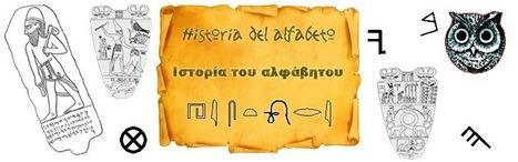 Jeroglíficos Egipcios - Historia del Alfabeto | Escritura en la Edad del Bronce | Scoop.it
