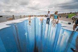 The Crevasse – Making of 3D Street Art | artsnapper | Cris Val's Favorite Art Topics | Scoop.it