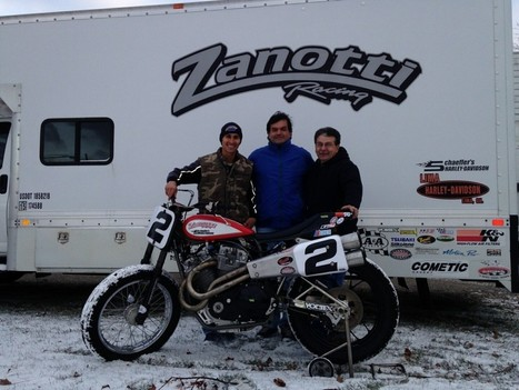 Coolbeth Joins Forces with Zanotti Racing for 2014 | California Flat Track Association (CFTA) | Scoop.it