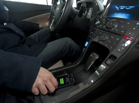 Faster Forward - CES 2011: GM, Powermat team up to make the Volt cord-free; plus more car tech | Sensor Machine Interfacing | Scoop.it