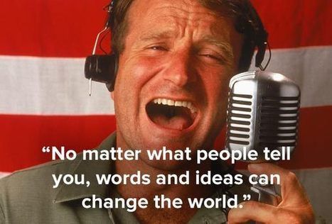 15 Wonderful Robin Williams Quotes On Life | Articles of Interest | Scoop.it
