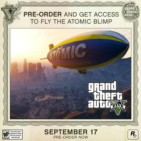 PreOrder GTA V Special Edition/Collector's Edition to fly the Atomic Blimp | PlayStation 3 MAGAZINE | Scoop.it