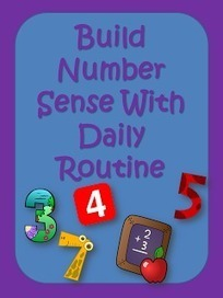 Elementary Matters: Build Number Sense With Daily Routine | Math | Scoop.it