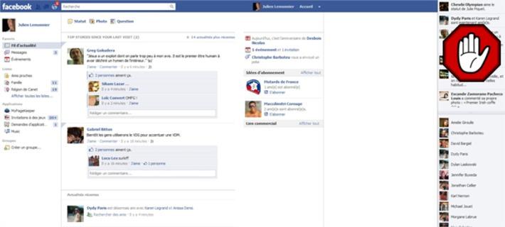 """Astuce : Comment masquer Facebook Ticker (Télex), la nouvelle barre d'activité en temps réel   Veille Techno et Informatique """"AutreMent""""   Scoop.it"""