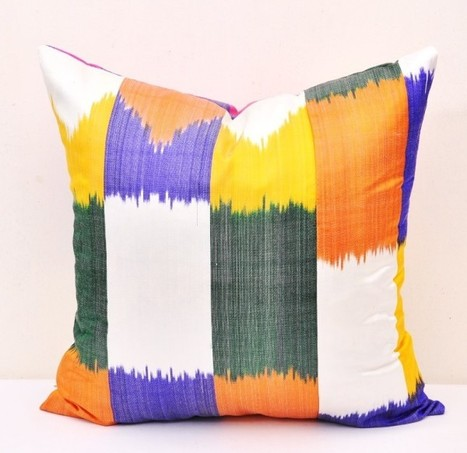Alesouk Oriental Artisans Online Store- Ikat Fabrics by the Yard, Ikat Throw Pillows and More | My account | Scoop.it