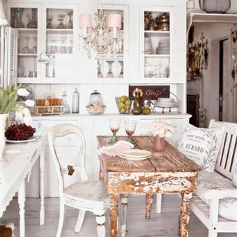 I Heart Shabby Chic: Inspirational Shabby Chic Decor Images & Photos | Shabby chic | Scoop.it