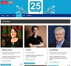World's Top 25 Social Business Leaders | VisibleBanking.com | SocBiz Employee Engagement | Scoop.it