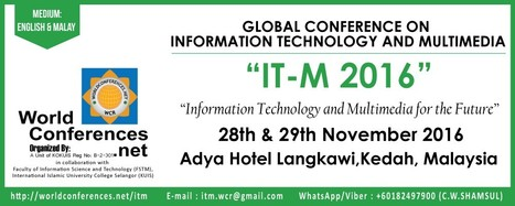 IT-M2016 | Edtech Conferences & CPD Events [Asia or close] | Scoop.it
