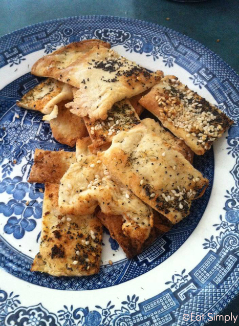Homemade Crackers | Eat Simply Now-Recipes for Lactose and Gluten Intolerant People. | Scoop.it