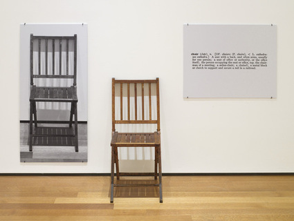 Semiotics as Art: Kosuth | Semionaut | About semiotics | Scoop.it