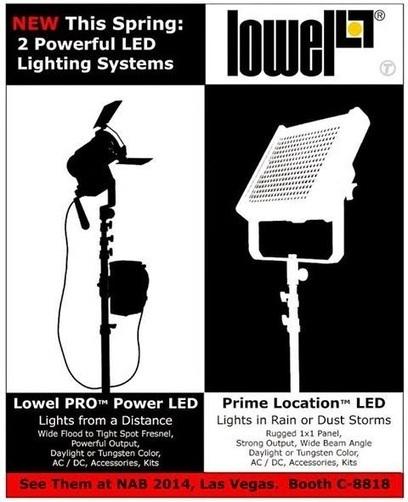 Lanza LOWEL el PRIME LOCATION LED PANEL la luz premiada de LED para Locación y Estudios #Iluminación #LED | FOTOGRAFIA Y VIDEO HDSLR PHOTOGRAPHY & VIDEO | Scoop.it