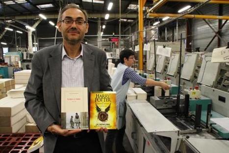 Alençon Harry Potter et les lettres de Mitterrand imprimés chez Normandie Roto | Le Mag ornais.fr | Scoop.it