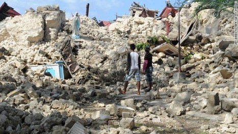 Death toll climbs to 183 in Philippines earthquake | Typhoon Haiyan | Scoop.it