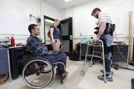 Engineering Student's Research Aimed at Walking Again > ENGINEERING.com | US Engineering | Scoop.it