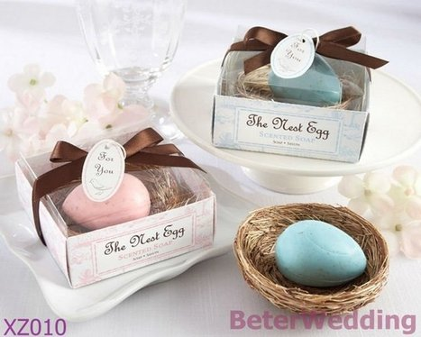 Aliexpress.com : Buy Party gifts wholesale XZ010 The Nest Egg Scented Egg Soap in Nest (Pink or Blue) from Reliable Egg soap suppliers on Your Unique Wedding Favors | Soap Gift Set, Wedding Bubbles | Scoop.it