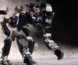 Robotic ape uses complex feet to move on all fours | Artificial Intelligence | Scoop.it