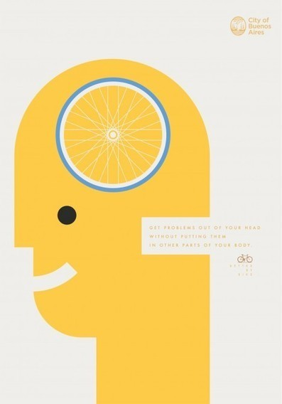 Five gorgeous posters to tell you that life is better by bike | Campaigns and Strategies - Marketing with Impact | Scoop.it