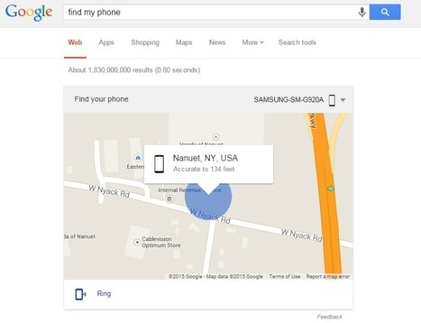 "Google ""Find My Phone"" To Locate Your Android Device 
