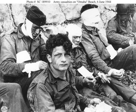 Wounded Soldiers Invasion of Normandy, June 1944 | Invasion of Normandy | Scoop.it