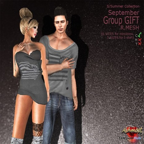 Mesh Summer Collection Him and Her September 2013 Group Gift by AsHmOoT | Teleport Hub - Second Life Freebies | Second Life Freebies | Scoop.it
