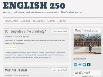 Education Continues Outside the Classroom on WordPress.com ... | Focus: Online EdTech | Scoop.it