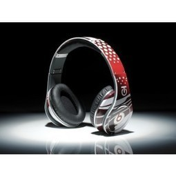 Beats studio Graffiti Limited Headphones with Fire and Character Red MB111 | beats by dre graffiti edition | Scoop.it