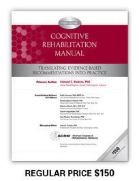 Cognitive Rehab Manual - ACRM | Therapy | Scoop.it