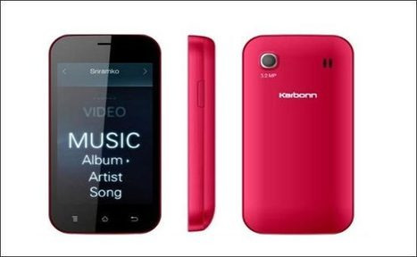 Karbonn A91 smartphone launched - Info Tech | full2info | Scoop.it