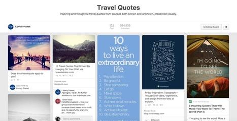 How top travel brands on social media perform on Pinterest, Vine and Tumblr | eT-Marketing - Digital world for Tourism | Scoop.it