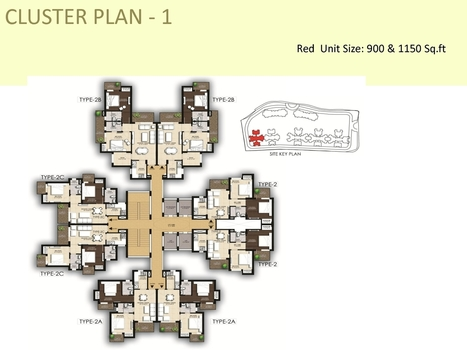 Iridia Floor Plan, Iridia Sector 86 Noida Expressway cluster Floor Plans of 2bhk and 3bhk - Smartway Group | Iridia Sector 86 Noida | Scoop.it