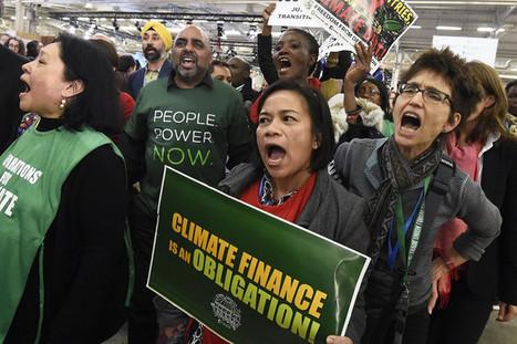 Climat : l'accord de Paris suscite espoirs et déceptions | Justice climatique et négociations multilatérales | Scoop.it