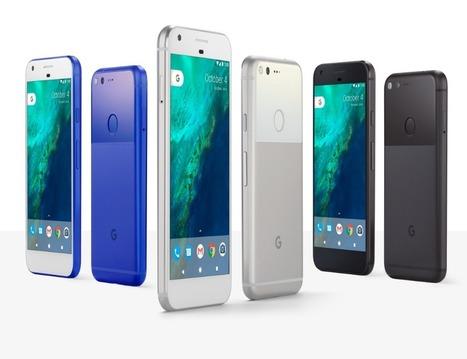 Les Pixel et Pixel XL sont officiels : des smartphones « made by Google » | Mon mobile et moi | Scoop.it