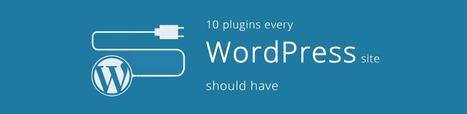 10 Plugins Every WordPress Site Should Have - CGColors | Web Design & Development Updates | Scoop.it