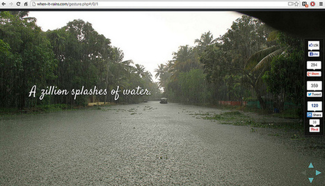 Awesome gesture navigation on Kerala tourism website, When-It-Rains.com   Bbroy   Scoop.it