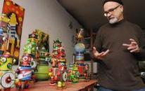 Art People: Mark Brown | robot sculptor | Daily summary. Includes interesting | Scoop.it
