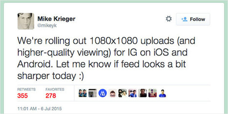 Instagram Resolution Increase: Here's How It Affects Image Quality and File Size | The Smart Camera | Scoop.it