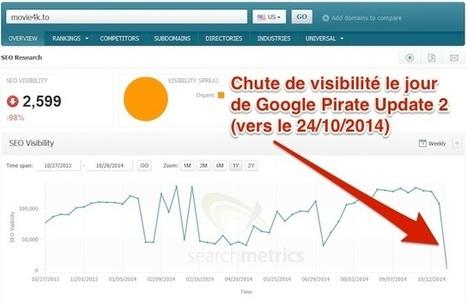 Google Pirate Update 2, contre le téléchargement illégal | Référencement sur les moteurs de recherche (SEO) : Google, Yahoo, Bing... | Scoop.it