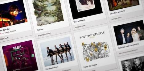 Pinterest: The Next Social Frontier for Music | Music business | Scoop.it
