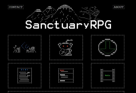 SanctuaryRPG | ASCII Art | Scoop.it