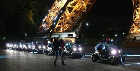 Twizy se plugg sur l'énergie de la Tour Eiffel | streetmarketing | Scoop.it